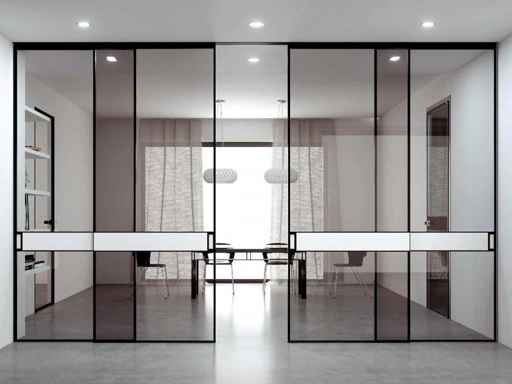 Porte in vetro guerra doors - Porta scorrevole interna ...