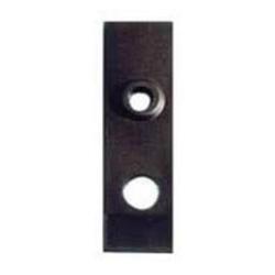 Placca per serratura porta basculante con foro cilindro tondo ...